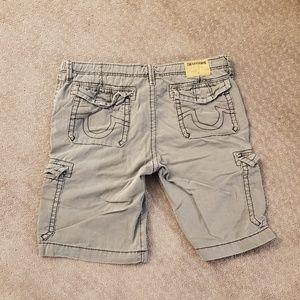 Cargo shorts True Religion in khaki